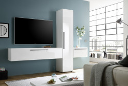 Mobilier living, New Vision, PAL/MDF, alb