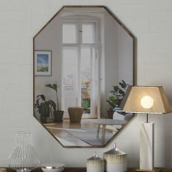Oglinda de perete Lost, Tera Home, 45x2x70 cm, maro