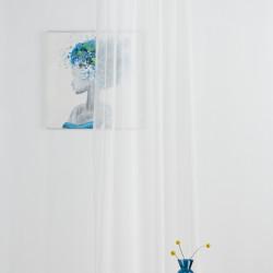 Perdea Imagine, Voal simplu, 140x245 cm, poliester, bej