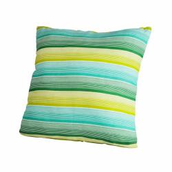 Perna decorativa 40x40 Green Stripes