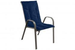 Perna scaun cu spatar Alcam, Midsummer, 105x48x3 cm, material impermeabil, Albastru