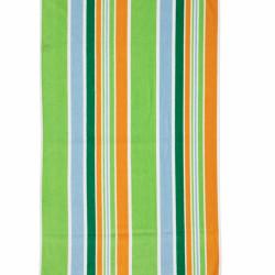 Prosop de plaja Stripe Orange, Heinner, 70 x 140 cm, 80% bumbac/ 20% poliester, multicolor