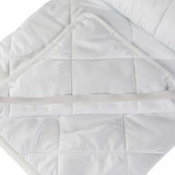 Protectie saltea Alcam microfibra matlasata 140x200 cm