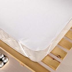 Protectie saltea impermeabila, Eponj Home, Ep-000227 White, 180x200 cm, 100% poliuretan, alb