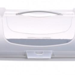 Recipient pentru depozitare prajituri, 34x14.3x15 cm, polipropilena, gri