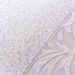 Set 2 prosoape de maini 50x90 cm, 100% bumbac, Soft Kiss, Burumcuk Lilac, lila