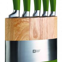 Set 5 cutite + suport, Richardson Sheffield, Fusion, inox/ABS