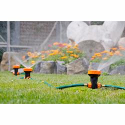 Sistem de irigare portabil Jocca, 180 cm, plastic ABS si PVC, verde/portocaliu/negru