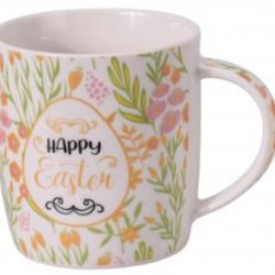 Cana Happy Easter, 370 ml, portelan, multicolor