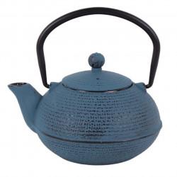 Ceainic cu infuzor Luigi Ferrero, fonta, 500 ml, albastru