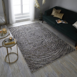 Covor ERIS URSA, 120x170 cm, 100% polipropilena, Auriu