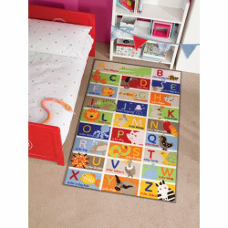 Covor Matrix Kiddy Abc Multi 100X160 cm