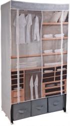 Dulap pentru haine Closet Design, 88x50x160 cm, multicolor