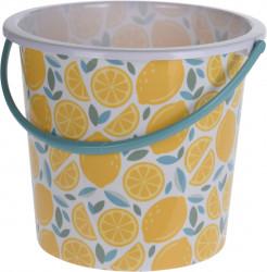 Galeata Lemon, 10 L, polipropilena, multicolor