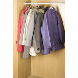 Husă de vidat pentru haine, WENKO, XL 145x70 , cu suport de agățat