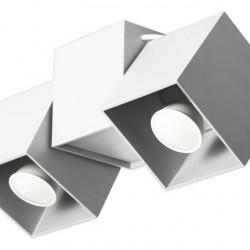 Lampa de tavan Lampex, Kraft 2B White, GU10, 40W