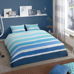 Lenjerie de pat pentru doua persoane, Good Morning Tamara, 100% bumbac, 3 piese, multicolor