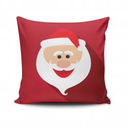 Perna decorativa, Christmas NOELKRLNT-22, 43x43 cm, policoton, multicolor