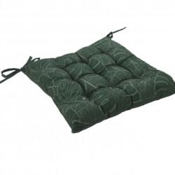 Perna pentru scaun Exotic, 40x40 cm, poliester, verde inchis