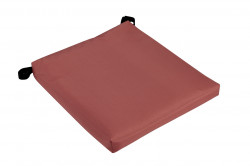 Perna scaun, Alcam, Soft Grena, 40x40x4 cm
