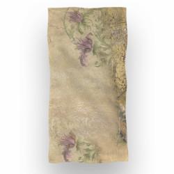 Prosop de baie si plaja Silk, Aglika, 70 x 140 cm, 70% bumbac, 30% microfibra, multicolor