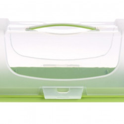 Recipient pentru depozitare prajituri, 34x14.3x15 cm, polipropilena, verde