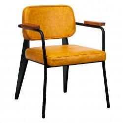 Scaun tapitat pentru living Ergo, Heinner, 62x60x78 cm