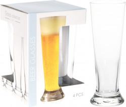 Set 4 pahare de bere Principe, 370 ml, sticla