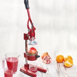 Storcator de fructe profesional, Heinner, 20 x 39.5 x 29.4 cm, fonta, rosu