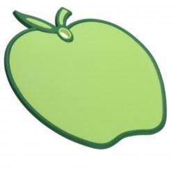 Tocator Apple, 28x30x8 cm, polipropilena, verde