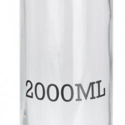 Borcan cu capac ermetic, 2000 ml, sticla