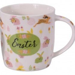 Cana Easter, 370 ml, portelan, multicolor