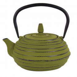 Ceainic cu infuzor Luigi Ferrero, fonta, 700 ml, verde
