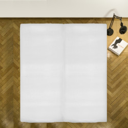 Cearceaf de pat cu elastic White Heinner, 180x200 cm, 100% bumbac, alb
