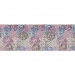 Covor Aliova - Blue, Confetti, 100x400 cm, poliamida, multicolor