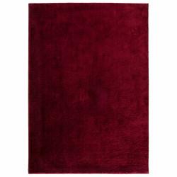 Covor Notos Bordeaux, Bedora, 133 x 190 cm, 100% poliester, rosu inchis