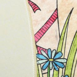 Covoras de baie, Chilai, Flowerpot DJT, multicolor