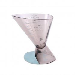 Cupa dubla pentru masurat, Luigi Ferrero Norsk, gradata, plastic