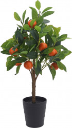 Decoratiune Orange Tree, H70 cm, polipropilena