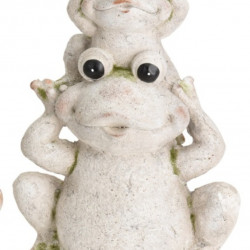 Lampa de gradina Frog, 32.5x22x50.5 cm, oxidat de magneziu
