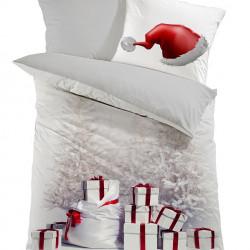 Lenjerie de pat pentru o persoana, Colors of Fashion, print 3D, 339, 100% bumbac ranforce, 2 piese, multicolor