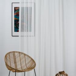 Perdea Imagine, Voal, 300x245 cm, poliester, bej