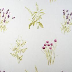 Perdea Mendola Interior, Maseille, 400x245 cm, poliester, lavanda