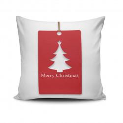 Perna decorativa NOELKRLNT-14, Christmas, 43x43 cm, policoton, multicolor