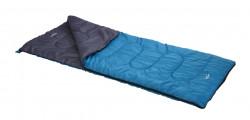 Sac de dormit pentru camping L, 180x74 cm, poliester, albastru