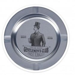 Scrumiera Gentlemen's club, Ø14 cm, metal, argintiu