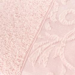 Set 2 prosoape de maini 50x90 cm, 100% bumbac, Soft Kiss, Burumcuk Pink, roz