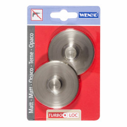 Sistem de fixare Turbo-loc WENKO, fara gaurire sau insurubare, ABS, argintiu