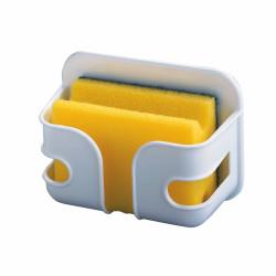 Suport pentru burete Wenko, 5 x 9x 12 cm, plastic, alb