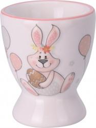 Suport pentru ou Bunny, 5.8x6.6 cm, dolomita, multicolor